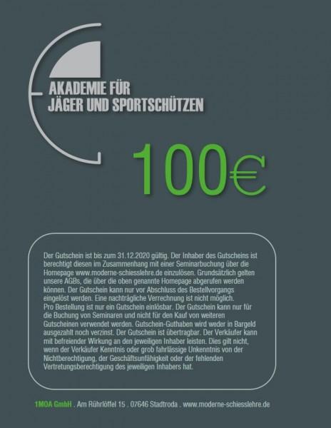 100€ Seminargutschein