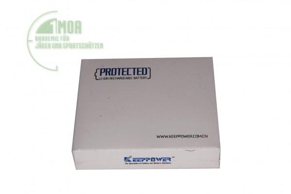 Keeppower RCR123A 16340 - 800mAh, 3,6V - 3,7V Li-Ionen-Akku geschützt