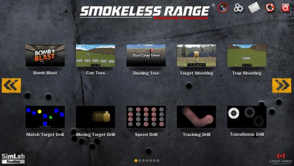Smokeless Range ® 2.0- Home Simulator mit Kamera